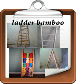 ladder bamboo